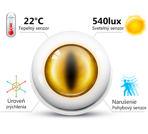 multifunkčný senzor