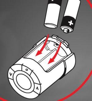 Termostatická hlavica a vladanie batérií
