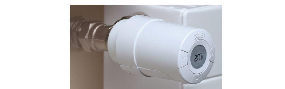 Termostatická hlavica na radiátor
