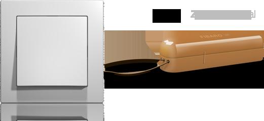 magnetický dverový kontakt