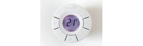 termostatická hlavica z predu