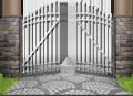 brána, výjazdová brána