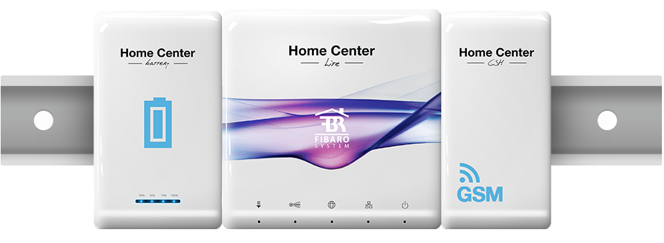 Fibaro home center lice z bateriou