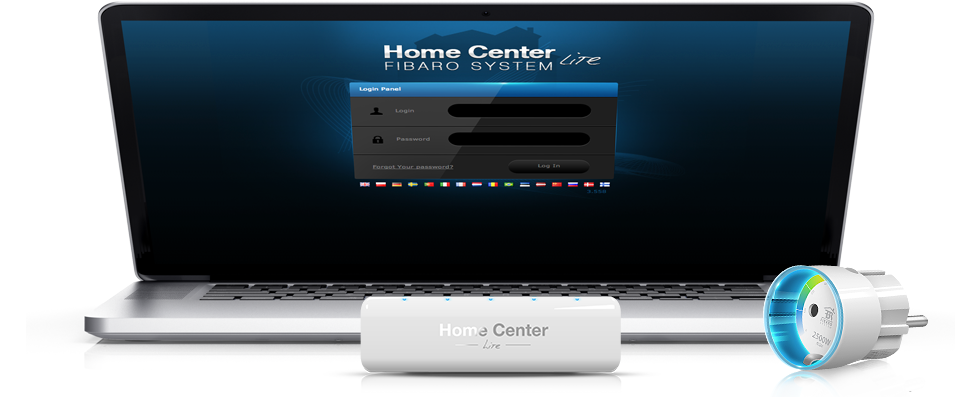 Fibaro home center lite a notbook