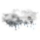 Oneskorené zalievanie, ked su dažde sú okávané